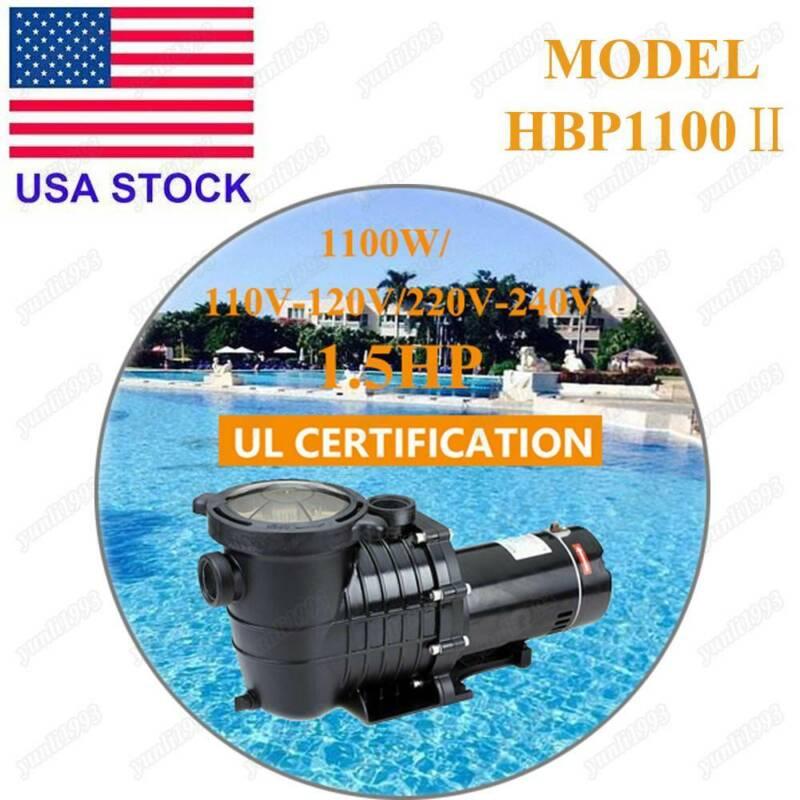 Hayward 1.5HP Generic In-Ground Swimming Pool Pump Motor Str