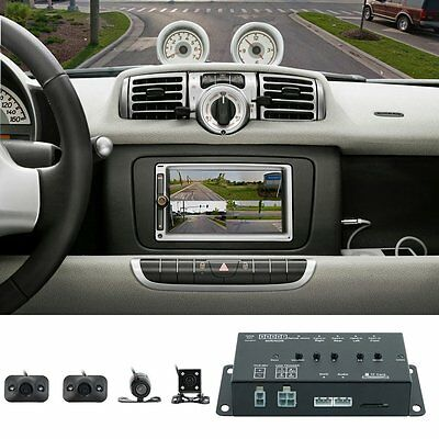 360° DC 12V Car SUV DVR Record Panoramic View All Round Rear View Camera System