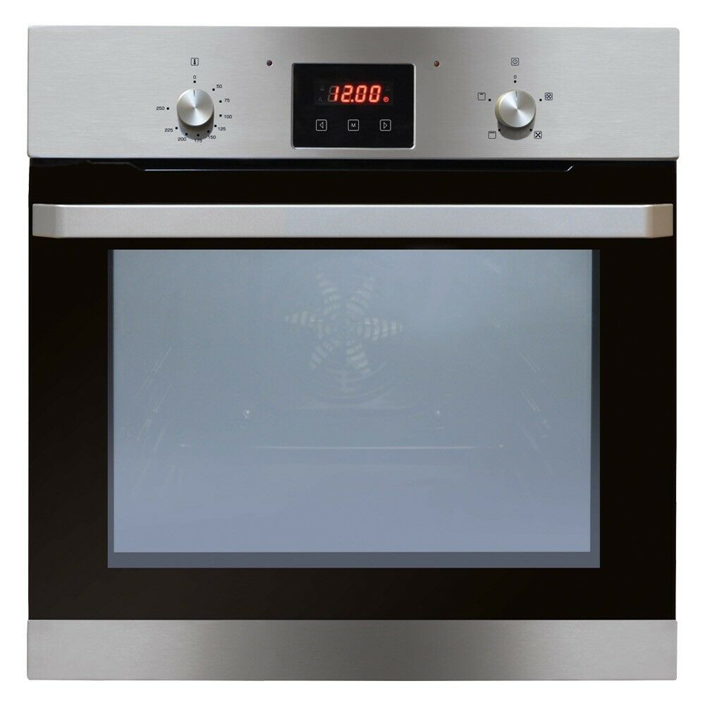 Matrix MS200SS four function single oven with clock/timer
