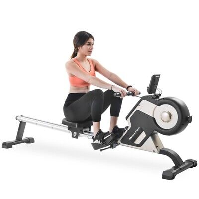 Magnetic Rowing Machine Compact Indoor Rower Fitness Gym Training Workout