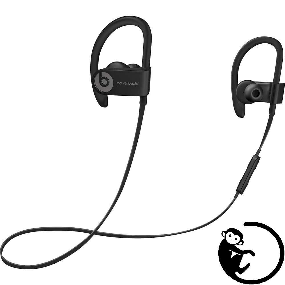 NEW - Beats Powerbeats 3 Wireless By Dr. Dre Ear Hook Bluetooth Headphones Black