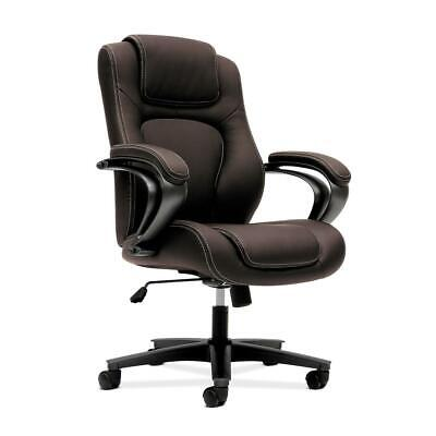 Hon Managerial Office Chair- High-back Computer Desk Chair With Loop Arms ...