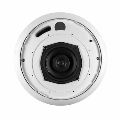 "Phase Tech CI520 5.25"" Coax Ceiling Speaker Home Audio 80W 16 Ohms"
