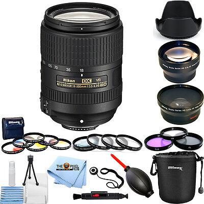 Nikon AF-S DX NIKKOR 18-300mm f/3.5-6.3G ED VR Lens #2216 PRO BUNDLE
