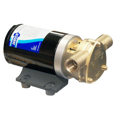 Boat Marine Commercial Duty Water Puppy Flexible Nitrile Impeller Pump 9GPM 24V