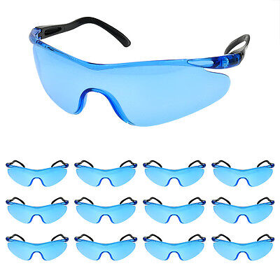 12pak Safety Glasses for Nerf War Kids Game Party Clear Lens