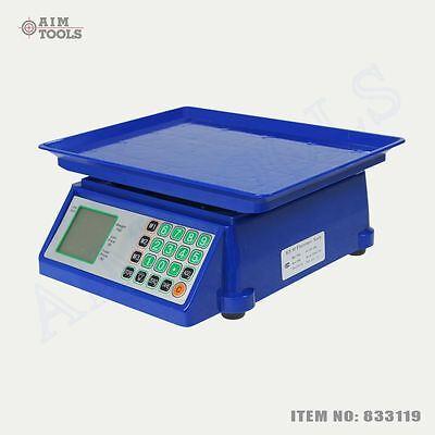 833119 30kg Electronic Digital Pricing Super Market Fruits Postal Weigh Scale