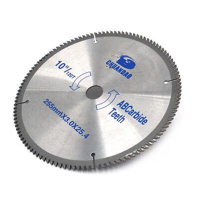 10 Inch Aluminum Cutting 120teeth Saw Blade Circular Saw Blade Wood Cutting