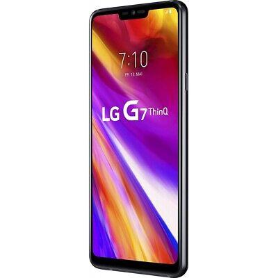LG G7 ThinQ 64GB schwarz Android Smartphone Handy ohne Vertrag Dual-Kamera WOW!