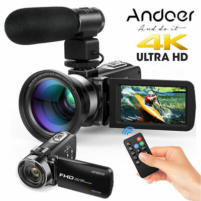 "Andoer 3"" Full HD 1080P 24MP 16X ZOOM Night Vision Digital DV Camera Camcorder"