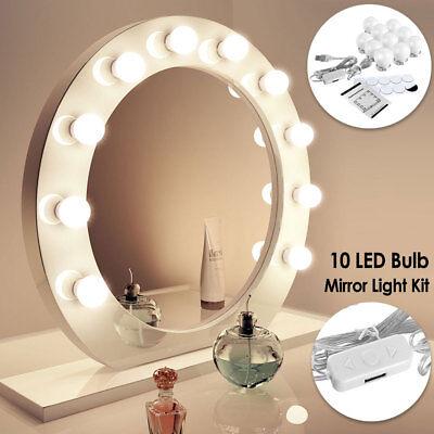 Make up Mirror Lights LED Hollywood Kit Bulbs Wall Vanity Light Dimmable Lights