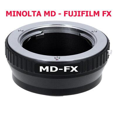 Minolta Md - Fujifilm Fx Adaptador Objetivo Lente de A Cámara
