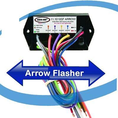 11.1010.arrow Sho-me Led Flasher - Arrow With 21 Flash Patterns