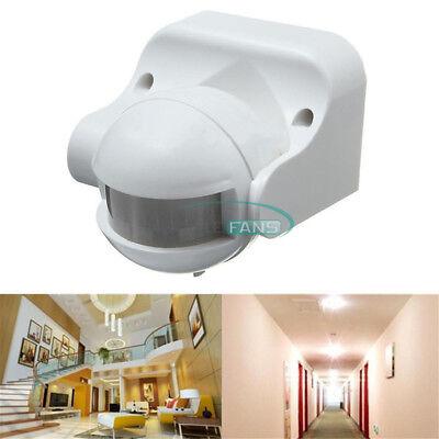 12v Ac Motion Sensor (White/Black/Grey DC12V/AC 220-240V 12M 180° PIR Motion Sensor Detector Switch)