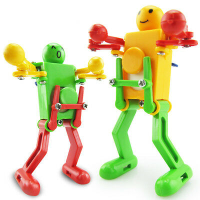 Cheerful Clockwork Wind Up Dancing Robot Toy For Baby Kids Developmental Toys - Developmental Toys For Toddlers