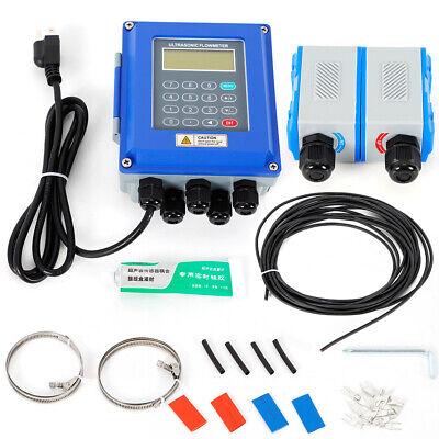 Ultrasonic Flow Meter Liquid Flowmeter Ip67 Dn50dn700mm Walldin-rail Mount Hot