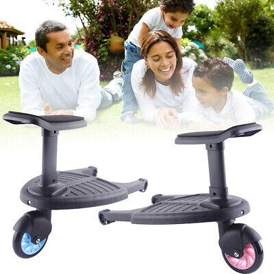 Sicherheit Buggyboard Abnehmbarem Sitz für Kinderwagen Jogger Board Trittbrett ()