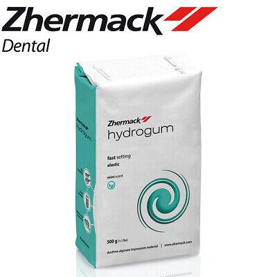 Zhermack Hydrogum Dental Impression Alginate 1 Lb. 500g Mint Fast Set