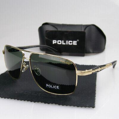 New Men Women Polarized Sunglasses Fashion Sport Police Eyewear Driving (Police Glasses Men)