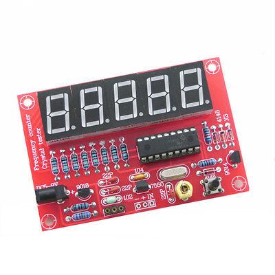 Saledigital Led 1hz-50mhz Crystal Oscillator Frequency Counter Meter Tester Kit