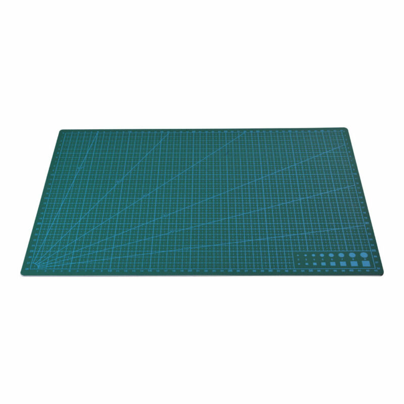 A4 Non Slip Printed Grid Double Sided PVC Self-Healing Cutting Mat 3-Layer