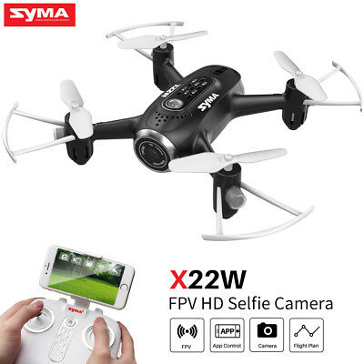 Syma X22W RC Drone with HD Camera 4CH APP Control WIFI FPV Hovering Quadcopter