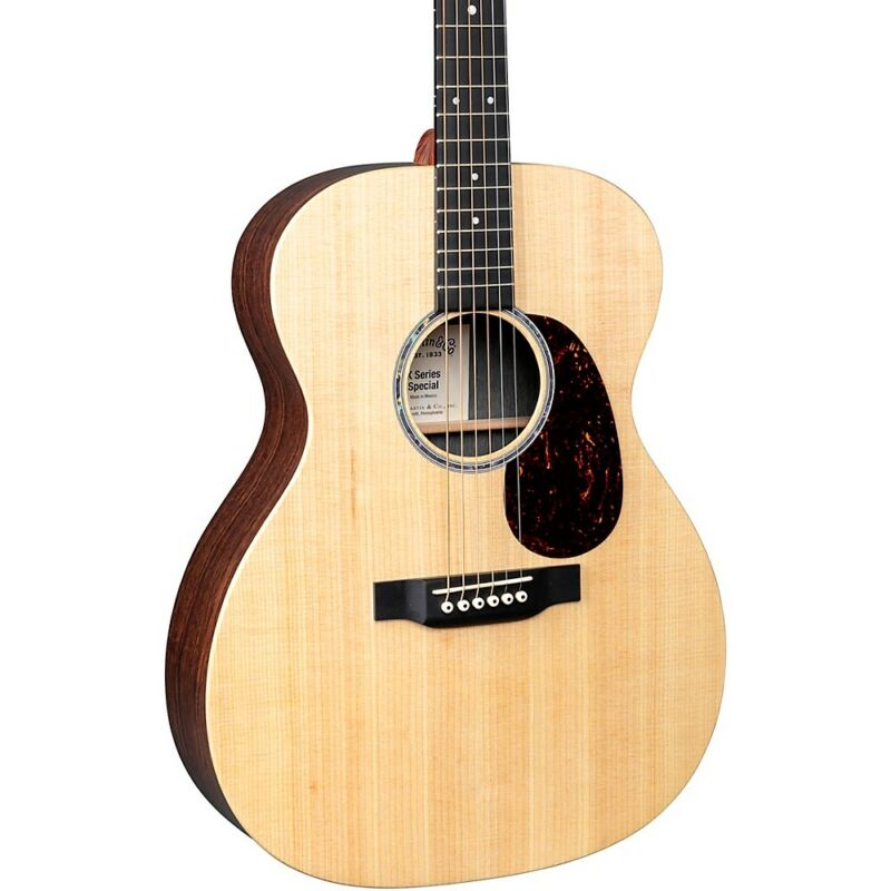 Martin Custom 000-X1AE Style Acoustic-Electric Guitar Natural