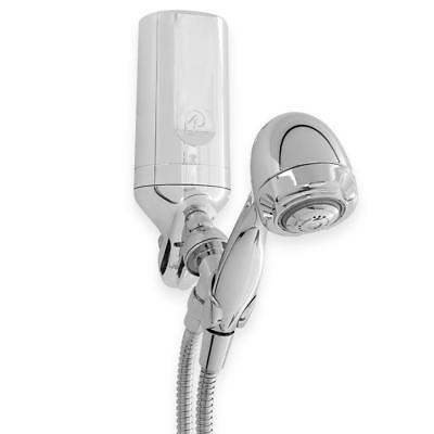 Pelican Distilled water Premium Shower Filter 3 Stage  w/ 5 ft. Wand Combo Quick Tie in