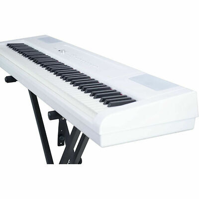 Artesia PA-88H 88-Key Weighted Hammer Action Digital Piano, White **X-STAND**