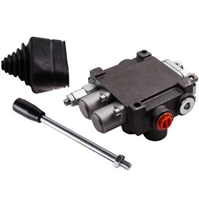 2 Spool Hydraulic Control Valve 11gpm Double Acting Monoblock Cylinder Spool