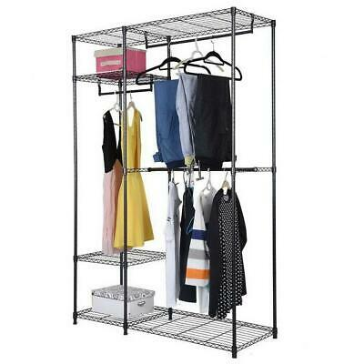 Closet System Storage Organizer Garment Rack Clothes Hanger