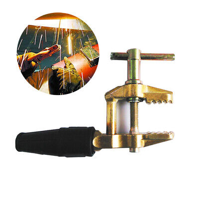 Full Copper Ground Clamp Welding Earth Cable Holder For Submergemigmmatig