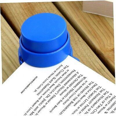 Free Stapleless Stapler Office Home Staple Paperclip Paper Binding Binder