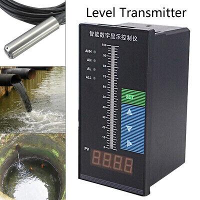 Submersible 6m Cable Water Level Transmitter 2.0mvv Transducer Sensor Digital