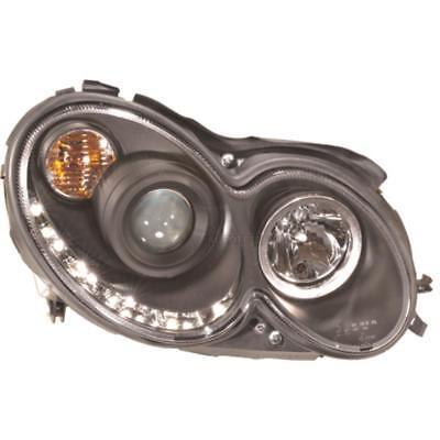 Set Scheinwerfer Mercedes CLK C209 A209 02-10  LED Tagfahrlicht Opti 1E7
