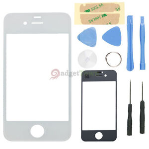 Front-Screen-Glass-Lens-Only-w-repair-Tools-for-Apple-iPhone-4S-4GS-White