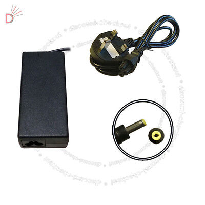 LAPTOP BATTERY CHARGER FOR ACER ASPIRE 5515 5520 5530 19V 3.42A + CORD UKDC