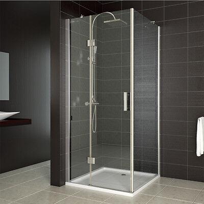 duschkabine duschabtrennung dusche 90x90 cm nano duschwand. Black Bedroom Furniture Sets. Home Design Ideas