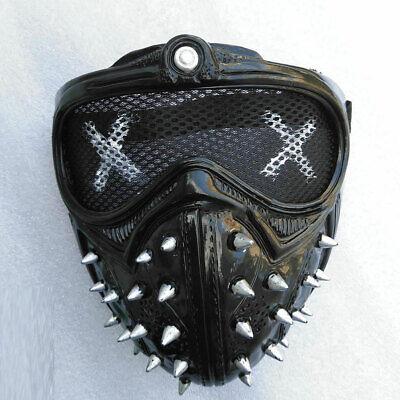 Black Cool Cosplay Hacker Expression Masks Party Decor Terror Halloween - Cool Halloween Decor