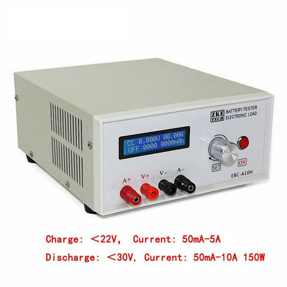 1.2-12V 18650 Li-ion Lithium Lead-Acid Battery Capacity Electric Energy Power Meter Charge Discharge Tester Analyzer