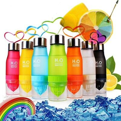 H20 Fruit Infusion Water Bottles 650Ml
