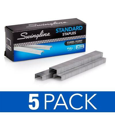 Swingline Staples Standard 14 Inches Length 210strip 5000box 5 Pack