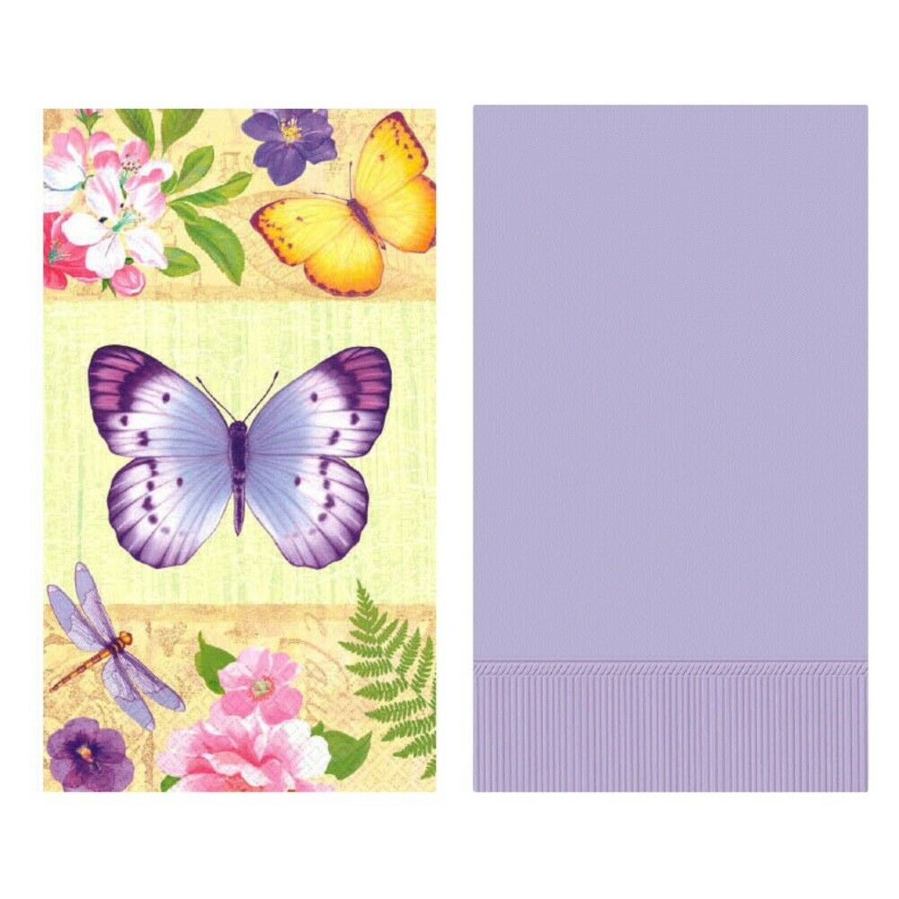 Spring Easter Bathroom Guest Towels Disposable Paper Buffet