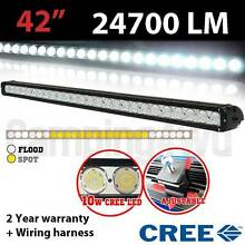 "42"" 240W CREE LED Lightbar +wiring harness light bar Craigie Joondalup Area Preview"