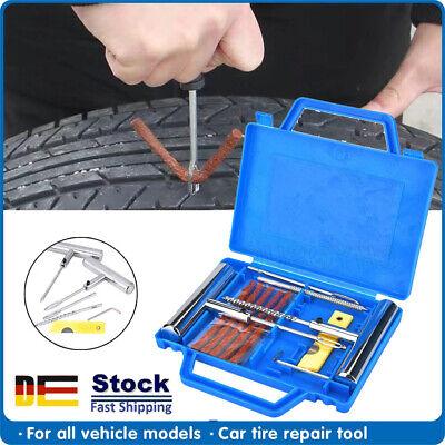 Autoreifen Reifen Reparatur Satz Kfz PKW Pannenset Flickzeug Flicken mit Box DHL