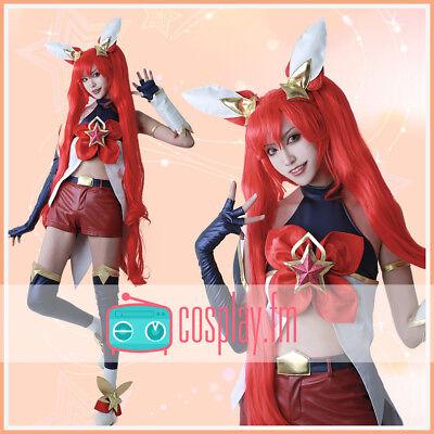 League of Legends Jinx Cosplay Costume Fullset Outfit Fancy Dress Halloween](Jinx Halloween Costumes)