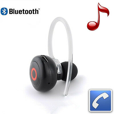Smallest Music   Phone Calls Hands Free Stereo Bluetooth Mini Earphone Headset A