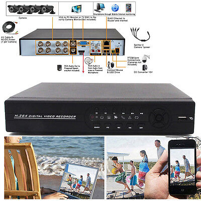 8CH Channel Full D1 CCTV H.264 Surveillance HDMI DVR Network for Security Camera