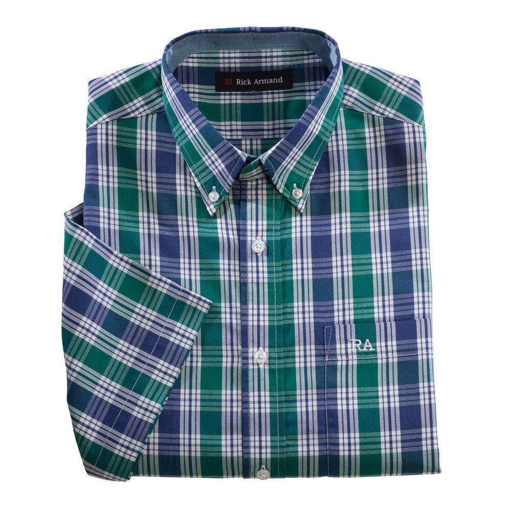 Herren Hemd Herrenhemd Kurzarm Karohemd kariert Hemden pflegeleicht
