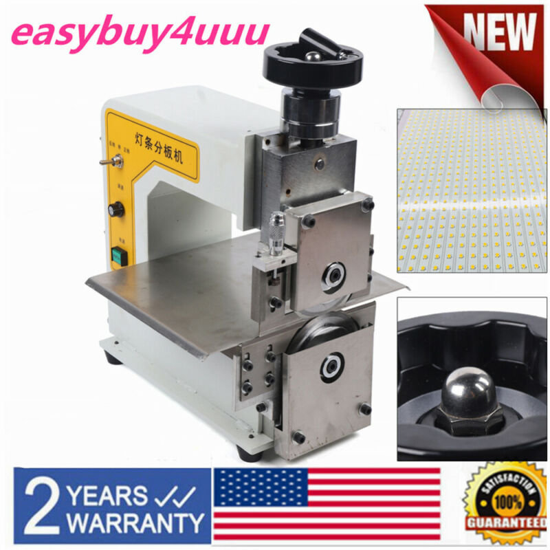 V Cut Groove PCB Cutting Separating Separator LED Light Bar Sub Board Machine